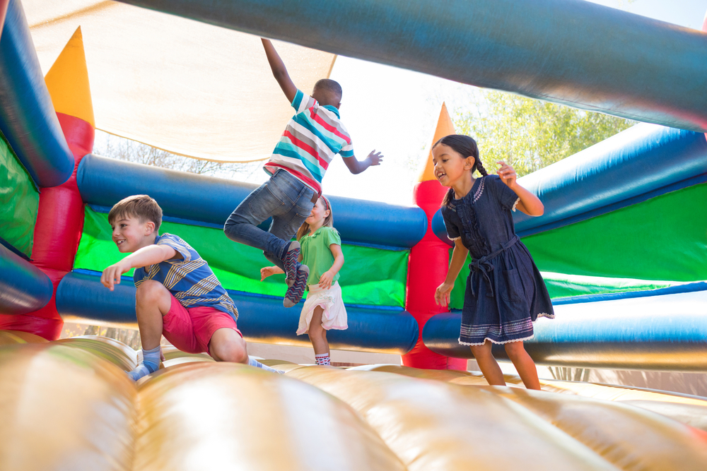Bouncy castle & inflatable insurance this summer